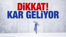 Meteoroloji Açıkladı : Konya'ya Kar Geliyor