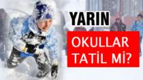 9 Ocak Pazartesi Konya'da Okullar Tatil Mi?