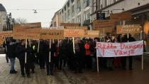 İsveç'te özelleştirme kurbanı dans pisti için eylem