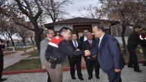 Ömeranlı Jandarma Karakol Komutanlığını Ziyaret
