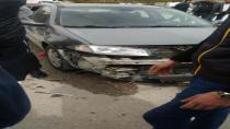 Cihanbeyli'de Üç Araba Birbirine Girdi