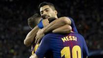 Şampiyonlar Liginde PSG 5-0, Barça 3-0 yendi