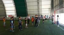 Kur'an Kursuna giden çocuklar halı saha maçındaydı