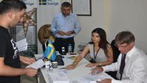 İsveç seçimleri için Kulu'da Oy Kullanılmaya Başlandı