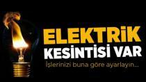 Yeniceoba'da Planlı Elektrik Kesintisi