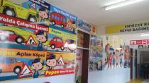 Kulu Atatürk İlkokuluna Trafik Eğitimi ve Akıl-Zeka Oyunları Koridoru Açıldı