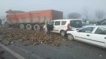 Konya'da zincirleme trafik kazası: 1 Ölü