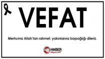 Yeniceoba'da Vefat Ahmet Demirel