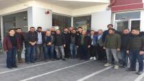 TİP heyeti Cihanbeyli'de işçilerle buluştu