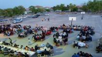 Yeniceoba İmam Hatip Ortaokulu'nda 400 kişilik İftar Yemeği
