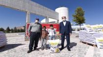 Konya Büyükşehir Belediyesi'nden çiftçiye destek