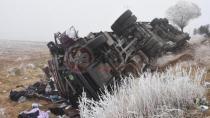 Reyhan Kara'nın vefat ettiği kazadan görüntüler