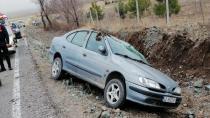 Kulu'da Takla Atan Otomobilde Aynı Aileden 2'si Çocuk 4 Kişi Yaralandı