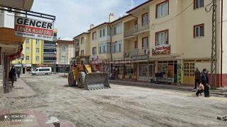 Yeniceoba'da ikinci prestij cadde çalışmaları başladı