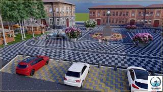 Yeniceoba Meydan Projesine dair görüntüler