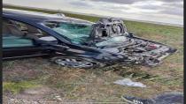 Yeniceoba-Bulduk yolunda trafik kazası: 1 Ölü, 1 Yaralı